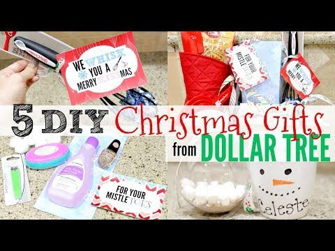5 DIY DOLLAR TREE CHRISTMAS GIFTS People Will ACTUALLY want | CHEAP CHRISTMAS GIFT IDEAS