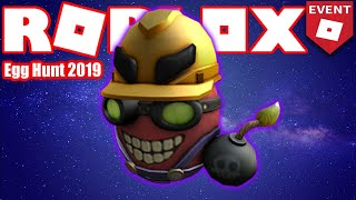 How to get the Demolition Eggspert - Super Bomb Survival - Roblox Egg Hunt 2019 GUIDE