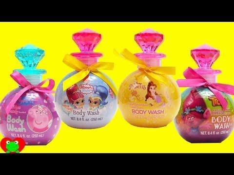 LOL Surprise Pets Bath Time Disney Princess Gem Soaps