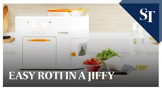 Automatic roti maker Rotimatic - How it works