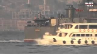 Boğaz'da Türk ve Rus savaş gemileri karşılaştı