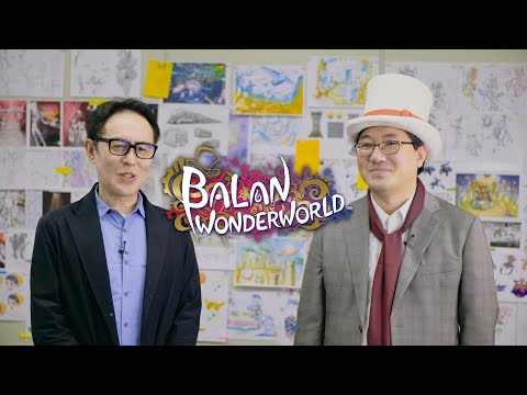 Yuji Naka and Naoto Ohshima present BALAN WONDERWORLD (Closed Captions)