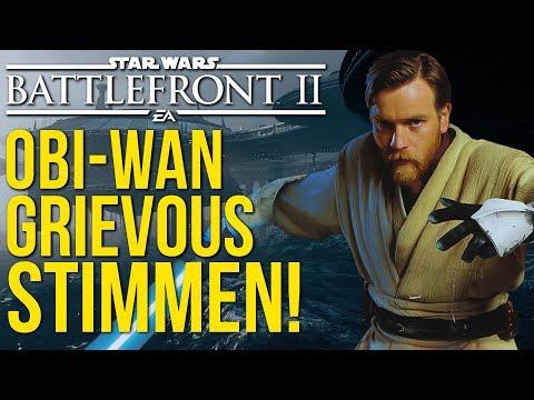 Helden Zitate: Obi-Wan, Grievous und weitere Stimmen! Star Wars Battlefront 2 | NEWS thumbnail