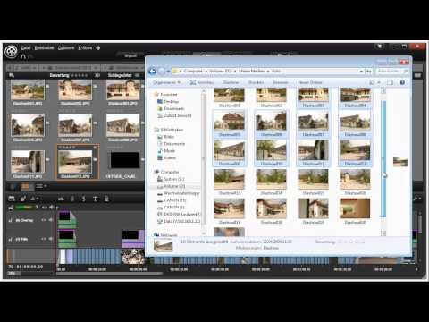 Import Möglichkeiten in Pinnacle Studio 16 und 17 Video 9 von 114