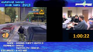 Grand Theft Auto 3 - SPEED RUN in 1:31:14 [PC] *Live at AGDQ 2013*