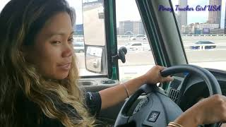 Driver Chick | Driving Semi-truck Through Dead Man's Curve Cleveland Ohio