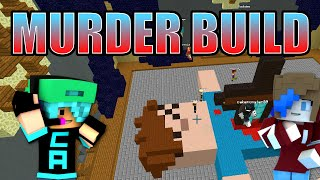 MINECRAFT BUILD BATTLE TEAM | BUILDING MURDER | GAMER CHAD & RADIOJH GAMES