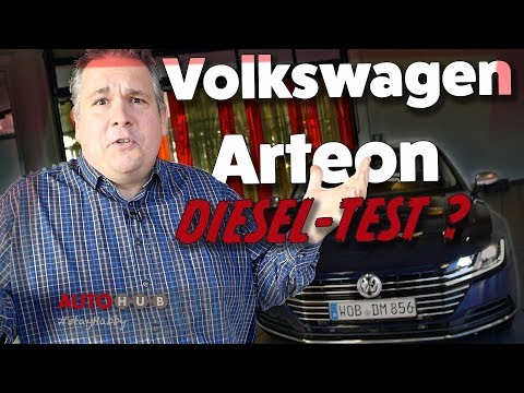 VW Arteon - Der große Diesel (im) Test