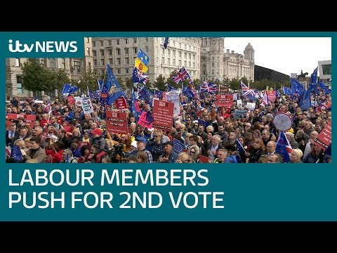 Labour leadership will go with second Brexit vote if members demand it | ITV News