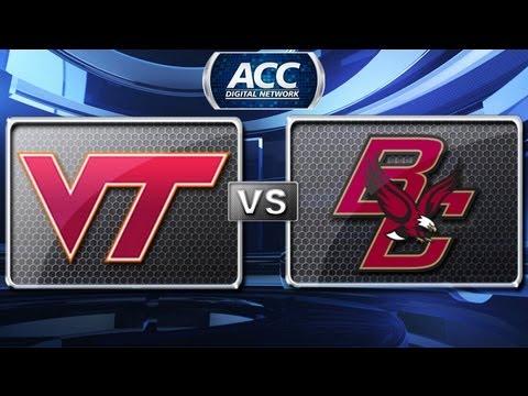 Virginia Tech vs Boston College Football Highlights - 2012