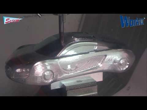CAD/CAM - CNC Gia công xe hơi trưng bày Audi RSQ.