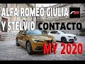 Alfa Romeo Giulia Y Stelvio My2020 \ Contacto \ Revistadelmotor.es