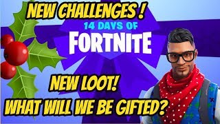 14 Days of Fortnite! 14 Days of Gifts! | Fortnite