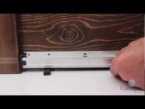Comax 1750 fai da te comaglio paraspifferi youtube - Paraspifferi sottoporta automatico ...
