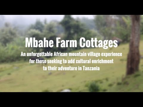 Mbahe Farm cottages, home sweet home in Tanzania | SENE