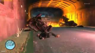 GTA 4 - Война с копами, бластеры