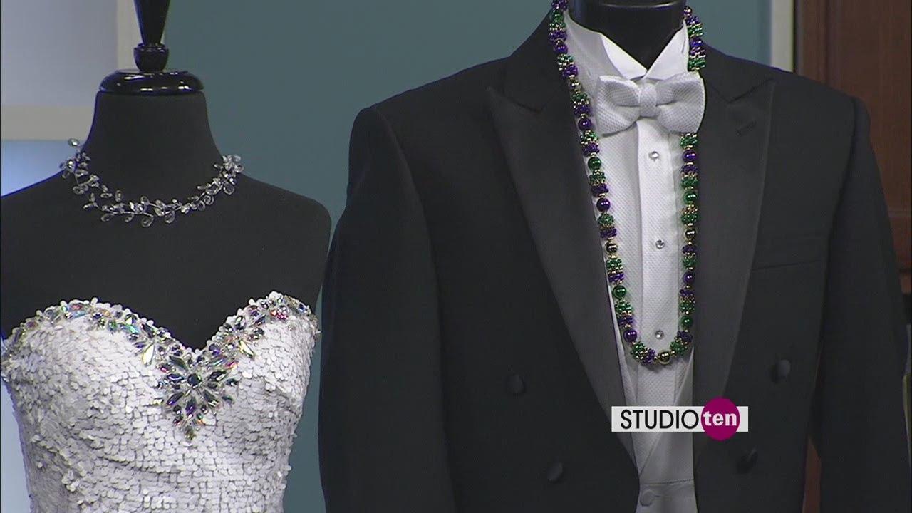 Studio  Francias Formal Wear What To Wear To A Mardi Gras Ball Youtube