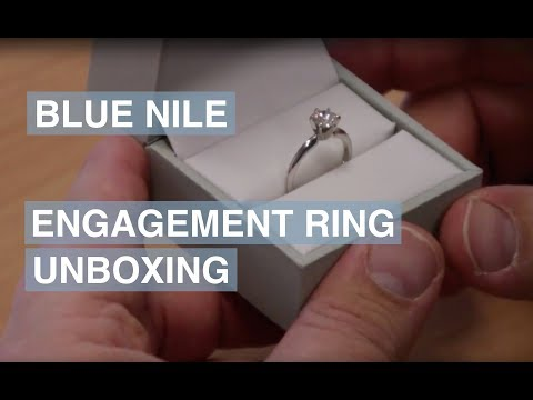 Blue Nile Engagement Ring Unboxing | The Diamond Pro Review