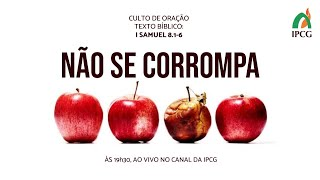 CULTO DE ORAÇÃO- 29/12/2020