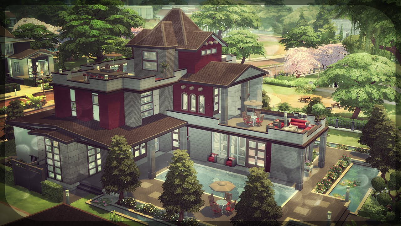 The sims 4 house building victoria 89 block party for What to do to build a house