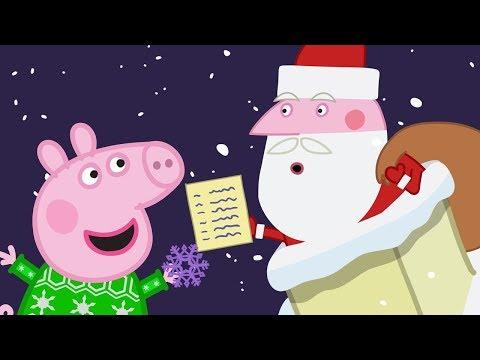 Peppa Pig Português Brasil - A CABANA DO PAPAI NOEL 🎄Natal Peppa Pig 🎄Peppa Pig