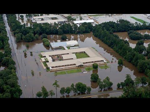 Louisiana Struck With RECORD Flooding
