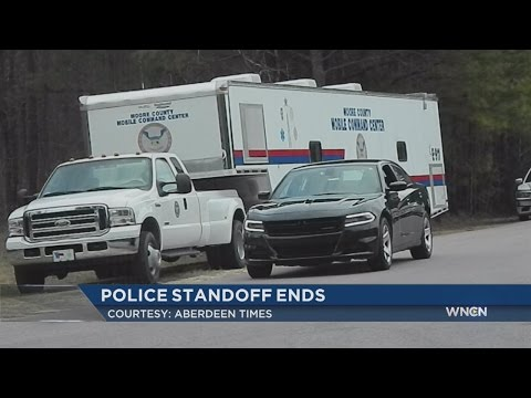 SWAT standoff ends at Moore County home