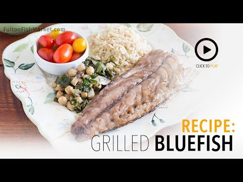 How To Grill Bluefish | Fulton Fish Market