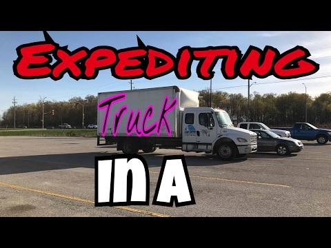 Expediting In A Truck Under 26,000 LBS