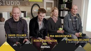Robert Pattinson talks about Damsel with IMDb at Sundance 2018