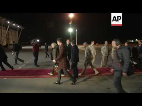 Dutch PM visits northern Kurdish region