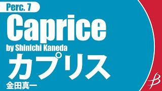 【打楽器7重奏】カプリス/Caprice for Seven Percussionists/金田真一/Shinichi Kaneda
