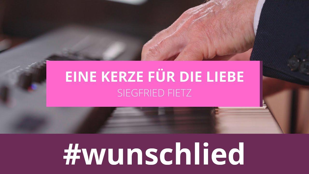 Siegfried Fietz singt 'Eine Kerze für die Liebe' #wunschlied