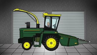 Agricultural machinery | Construction | Garage | Kombajn Buraczany - Bajki