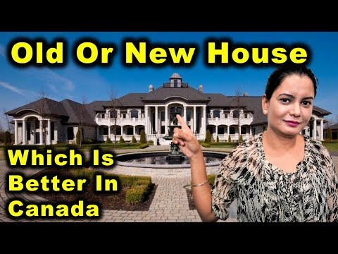 Why We Bought A New House In Canada?   Old House Vs New House   Canada Couple Vlogs