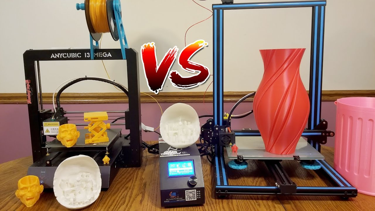 Anycubic I3 Mega VS Creality CR-10  What 3D Printer is the best?
