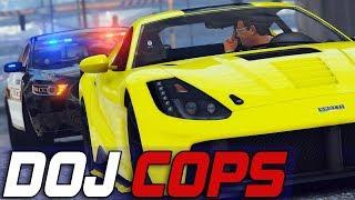 Dept. of Justice Cops #697 - Speed Smokin Em'