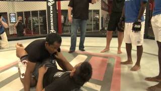 EXCLUSIVE UFC meets City: Tito Ortiz works out with City players at the UFC Gym