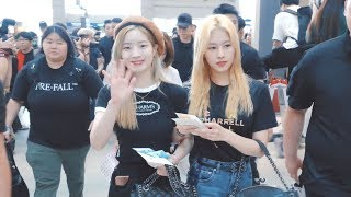 190712 TWICE 인천공항 출국 (TWICELIGHTS in singapore) 4K Fancam