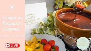 Fondue de Brigadeiro Gourmet com as Delícias de Patty Okamoto!!