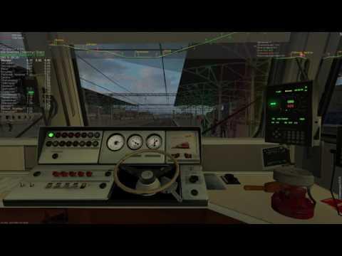 ZDSimulator. Пригородный поезд №6503 сообщением Москва-Белорусская - Голицыно