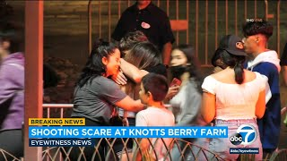 Teen injured by gunfire after shooting outside Knott's Berry Farm