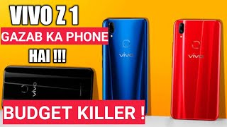 Vivo Z1 Amazing Budget smartphone Specs Review | Great Features & Cheap Price