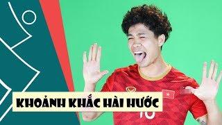 Công Phượng, Quang Hải làm trò khiến ai cũng cười té ghế trong buổi ra mắt áo ĐTVN