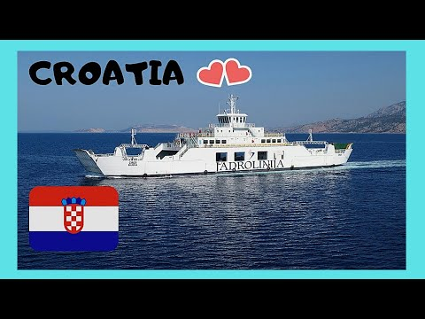 CROATIA: MY SCENIC FERRY RIDE Ride From SPLIT To Island Of HVAR And Back ⛴️
