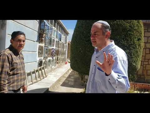 TRABAJO DE RESTAURACIÓN EN EL CEMENTERIO ISRAELITA DE ORURO (Antes Y Después)   #judio