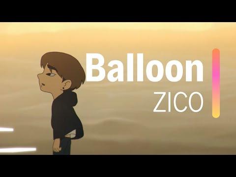 Download ZICO - Balloon s HAN / ROM / ENGLISH Mp4 baru
