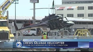 helicopter pilot identified as air traffic recording reveals moments before crash