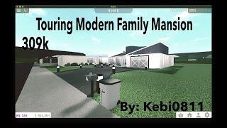 Roblox| Touring Modern Family Mansion 309k