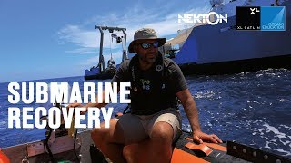 Submarine recovery (360 video)